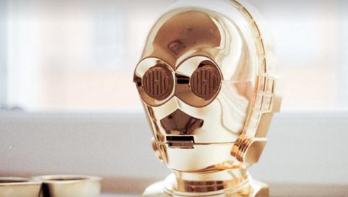 C-3POの黄金マスク